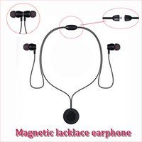 XT- 8 magnet neckband necklace wireless bluetooth V4. 2 inear ...