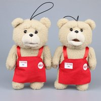 Teddy Bear Ted Plush 20- 25cm With Red Cloth Kids Ted Plush ...