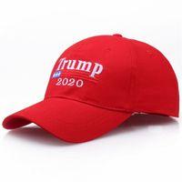 TUNICA 2020 cap Bandeira Red Hat Re-Eleição bordado EUA MAGA New Cap Cotton Hat Baseball