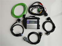 ile MB Star C4 5 Kablolar SD bağlantı Tanı Çoklayıcı Mercedes Ben-z Otomobil için destek ve Kamyon stokta