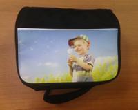Borsa da picnic in bianco sublimazione moda fai-da-te per stampa a trasferimento termico materiali borsa da pranzo