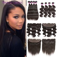 Brazilian Body Wave Straight Human Hair Extensions Deep Wate...