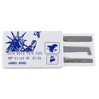 신용 카드 잠금 선택 세트 - Secure Pro 신용 카드 크기 잠금 피킹 세트 - 긴급 Lockpick 카드 - 무료 전세계 배송