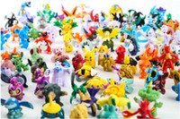 144 PCS Lot Monster Pikachu Toys Cute Cartoon 2- 3 cm PVC Act...