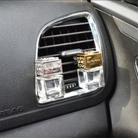 Car Ornament Decoration Perfume Empty Bottle Vents Clip Auto...