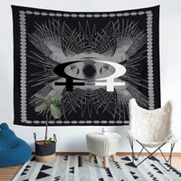 Divination Totem Pattern Theme Tapestry 36*25 60*51 80*68 10...