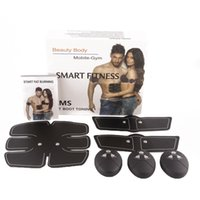 Muscle Training Stimulator Device Abdominal Wireless EMS Bel...
