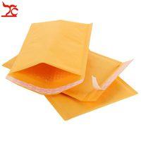 판매 50PCS / 많은 종이 가방 작은 크래프트 종이 버블 메일 패딩 봉투 11 * 15cm 쥬얼리 패키지 액세서리 파티 학교 선물 주최자 가방
