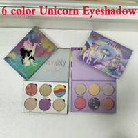 Yeni Diş Mermaid Aşk Luxe Güzellik Fantasy Paleti Makyaj İnanılmaz Güzel Vurgulayıcılar Göz Farı 6 Renkler Göz Farı