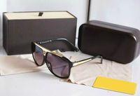 1 Paar Hohe Qualität Neue Mens Womens sonnenbrille Beweise Sonnenbrille Gläser Schwarz Brillen Kommen Mit Original Zubehör