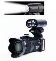 Protax D7300 Digitalkameras 33MP Professionelle DSLR-Kameras 24x Optischer Zoom Tele Tele Tele 8X Weitwinkelobjektiv LED Spotlight-Stativ