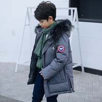Fashion Children Winter Coat Boys Down Jackets 2018 new wint...