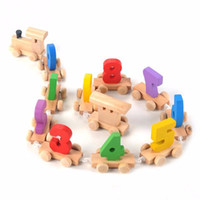 1 Pcs Learning Figure Training Count Math Wooden Pattern Ear...