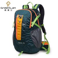 GREENLAN 40L внутренняя рамка восхождение рюкзак профессиональный водонепроницаемый открытый кемпинг рюкзаки высокое качество нейлон Спортивные сумки