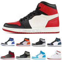 1 basketball shoes bred banned Top 3 royal reverse shattered...