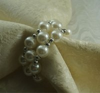 흰색 결혼 반지 냅킨, 도매 장식 냅킨 링, 대량 냅킨 홀더