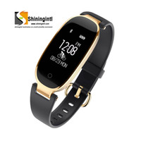 Smochm Fashion Lady Women Waterproof Bluetooth Smart Blacele...