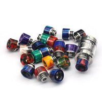 Epoxy Resin SS 510 Drip Tip Wide Bore Mouthpiece for 510 Thr...