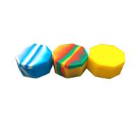 5 X Récipient en cire de silicone Dab facile à ouvrir et à utiliser. Récipient en cire de silicone réutilisable pour les herbes sèches.