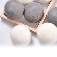 ورأى الصوف مجفف كرات الغسيل كرات نظيفة قابلة لإعادة الاستخدام النسيج الطبيعي العضوي الغسيل المنقي شعر الكرة الامتصاص والتجاعيد تجفيف الكرة