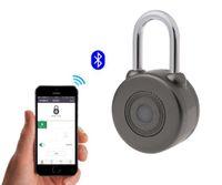 الحرة الشحن الإلكترونية اللاسلكية قفل بدون مفتاح الذكية بلوتوث قفل أنواع ماجستير مفاتيح قفل مع التحكم APP لباب المنزل دراجة Motorycle