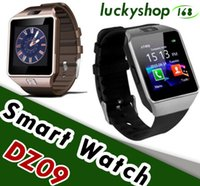 DZ09 Smart Watch Dz09 Orologi Wristband Android Orologio Smart SIM Intelligent Mobile Phone Sleep stato Smart Orologio pacchetto di vendita