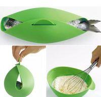 Silicone Fish Kettle Steamer Microonde Bracconiere Cucina Cibo Ciotola di verdure Cestino Cucina Strumenti di cottura Accessori Forniture