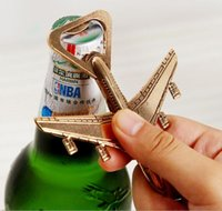 New 100pcs Wedding Souvenirs Airplane Bottle Opener Antique ...