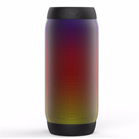 Colorful Waterproof LED Portable Bluetooth Speaker BQ- 615 Wi...