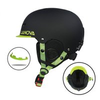 Snowboard Ski Helmet Safety Integrally- molded Breathable Hel...