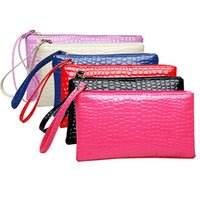 Women' s Coin Purse Clutch Wristlet PU Leather Handbags ...