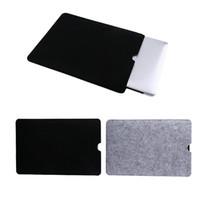 11/13/15 Zoll glaubte Laptop-Hülsen-Kasten-Beutel Pouch + Mouse Auflage für Macbook Air Pro Retina-Schutz-Kasten Freies Verschiffen