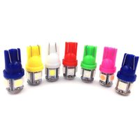 T10 12V Colorful 5 SMD 5050 LED 194 168 W5W Car Side Wedge T...