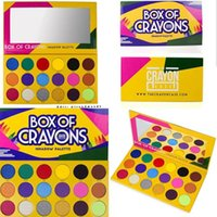 BOX OF CRAYONS iSHADOW Palette 18 Colors Cosmetics Eyeshadow...