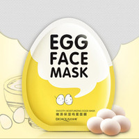 BIOAQUA Egg Facial Masks Oil Control Brighten Wrapped Mask T...