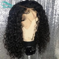 Bythair Human Hair Wig Short Deep Curly Pre- plucked Hairline...