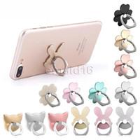Высокое качество универсальный 360 градусов Multi конструкции палец кольцо держатель Multi цвета телефон стенд для iPhone Samsung для мобильных телефонов