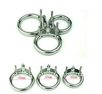 40/45 / 50MM maschio cintura di castità accessori cazzo gabbia in metallo anello del rubinetto per adulti castità devozione giocattoli del sesso per l'uomo