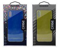 20 Arten Universal PVC Retail Package Phone Case Verpackungsbox Kunststoffkästen mit Einsatz für iPhone x 8 7 6 Plus Samsung S8 S9 Custom Logo