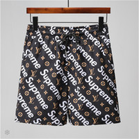 Fashion Designer Shorts Mens Casual Beach Shorts Brand Short...