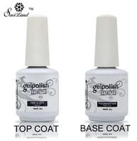 Neu Soak Off Gel Lack Professional 15ml Gelpolish Base und Top Coat Lacke Primer Nail Art Uv Gel Nagellack