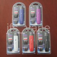G8 Sigara EVOD Başlangıç Kiti 300 mAh Pil Taşınabilir 2 Pod USB Pil Vape kartuşları Için Vape Kalem balmumu kalem 2018 Elektronik sigaralar