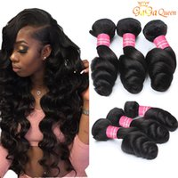 8a Brazilian Loose Wave Virgin Hair Extensions 3 or 4 Bundle...