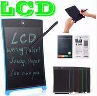8. 5 inch LCD Writing Tablet Memo Drawing Board Blackboard Ha...