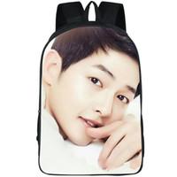 Zaino di Song Joong Ki Hot day day pack Sacchetto di scuola di design pop Zaino per il tempo libero Zaino di qualità Zaino sportivo Zaino da esterni