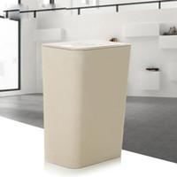 Creative 10L Double-Cap Avec boîte de rangement pour sac à ordures poubelle avec poubelle haute qualité pour outils de nettoyage de maison cuisine poubelle