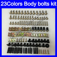 Verkleidungsschrauben Full Screw Cit für Yamaha R6 YZFR6 03 04 05 YZF-R6 YZF600 YZF 600 YZF R6 2003 2004 2005 Körpermuttern Schrauben Nut Bolzen Kit 25colors