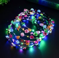 LED Hair accessories kids Accessories Party Wedding DIY LED ...