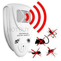 Ultrasonic Pest Repeller Electronic Pest Control Repel Mouse...