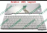 Novo Teclado do portátil para Acer Aspire 4710 4220 4320 4520 4720 5300 5720 5920 Cinza Branco Árabe AR - MP-07A23A0-442 NSK-H3V0A